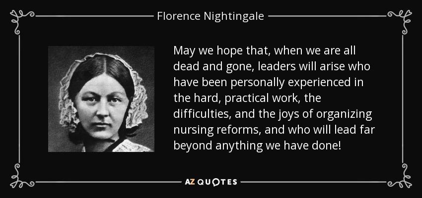 florence nightingale teachings