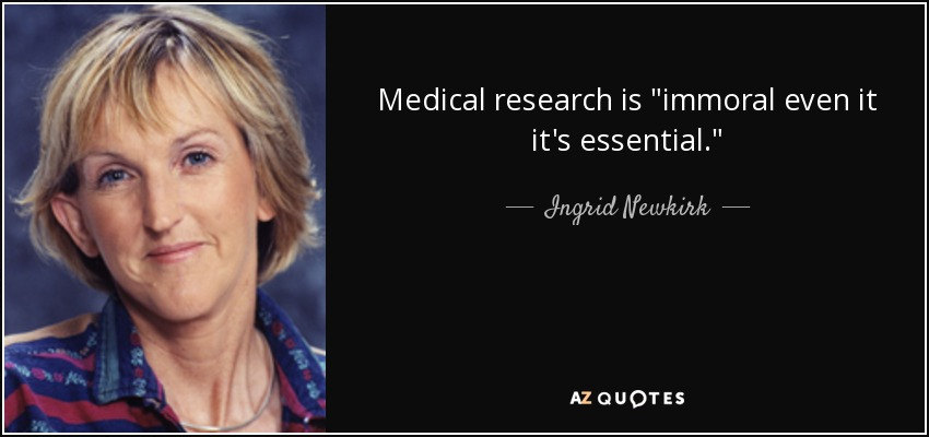 Medical research is
