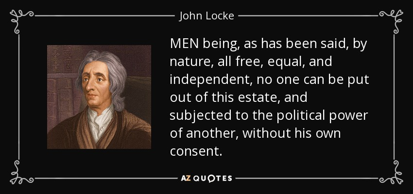 john locke on tacit and unintended consent essay