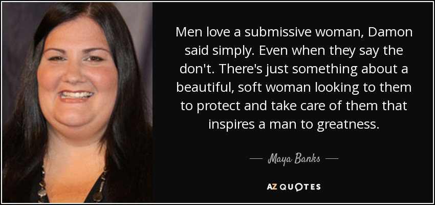 Submissive woman quotes