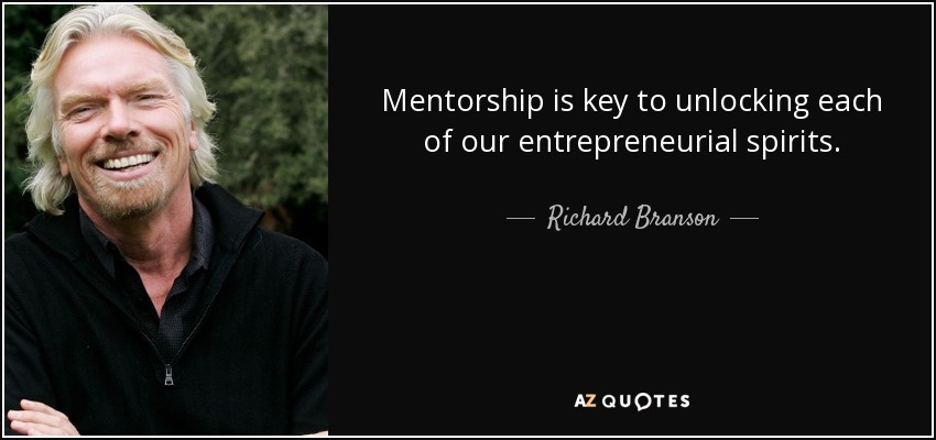 richard branson quote mentorship is key to unlocking each of our