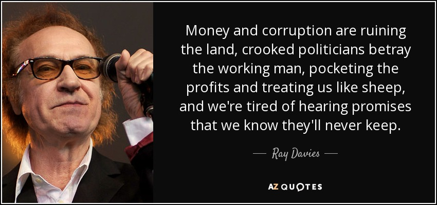 TOP 25 QUOTES BY RAY DAVIES (of 143)