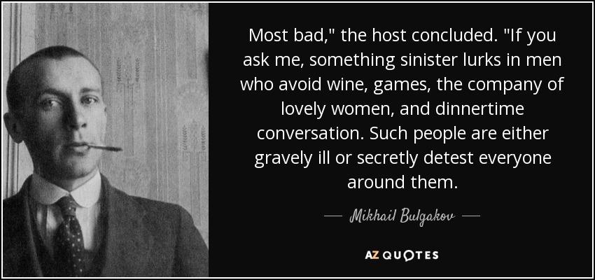 Most bad,