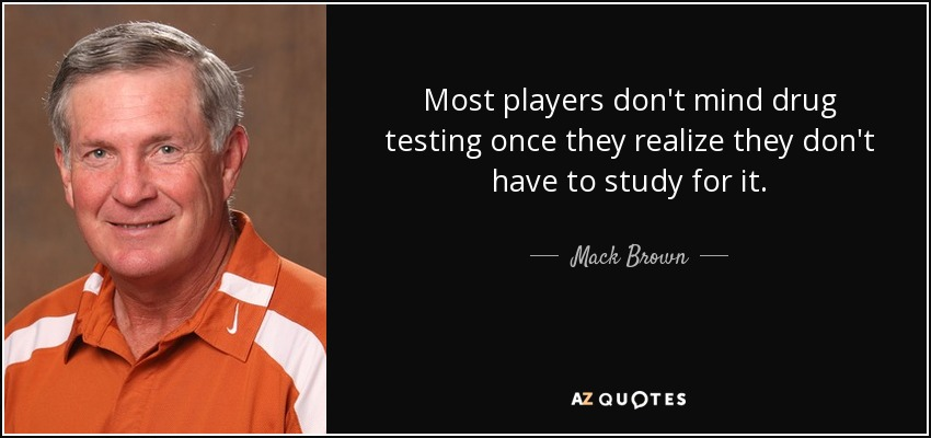 a discussion on whether school athletes should be drug tested Compensating behavior and the drug the random drug testing of athletes may be avery risky policy innovation drug testing of high school athletes of drug.