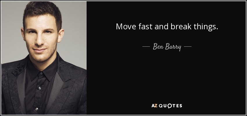 QUOTES BY BEN BARRY