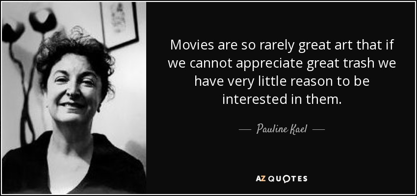 CAN ANYBODY THINK OF A GOOD FILM...?