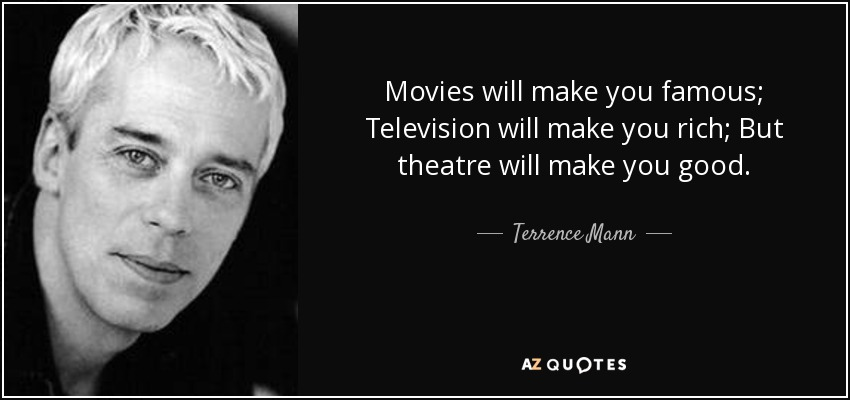 Books By Terrence Mann >> Quotes By Terrence Mann A Z Quotes
