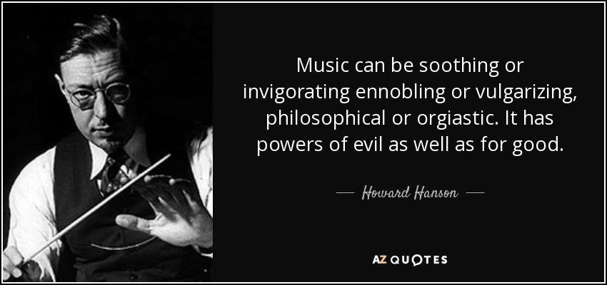 QUOTES BY HOWARD HANSON | A-Z Quotes