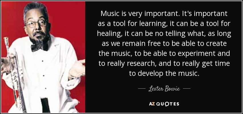 essay on why music is importance in schools Music is everywhere in our world and music relates to everything as well music is in all of our histories starting from the beginning it is also in science and mathematics in many ways, as well as in everything else without music we would not have anything, life would be boring and dull.