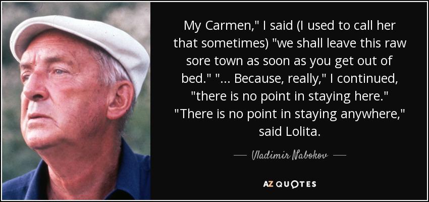 My Carmen,