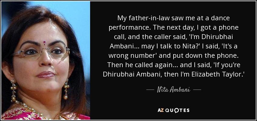 Top 25 Quotes By Nita Ambani A Z Quotes