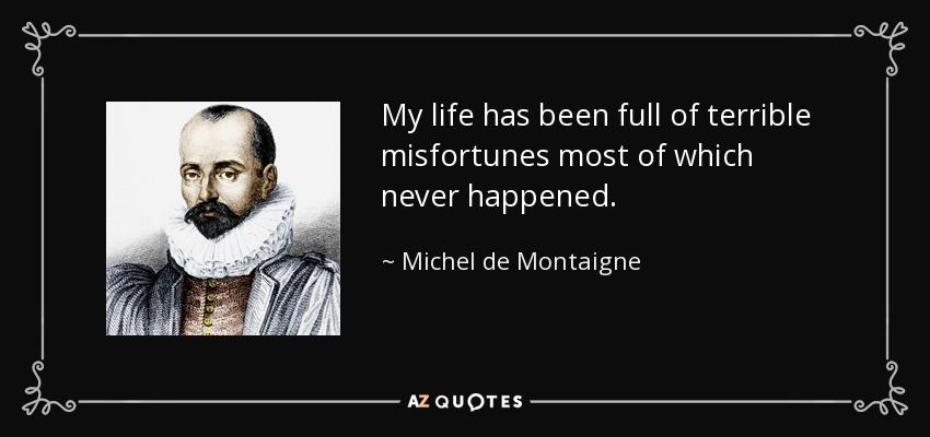 montaigne essays quotations