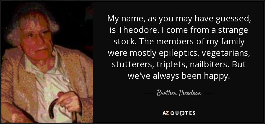 brother theodore the burbs