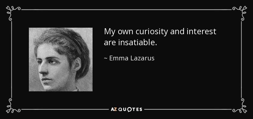 essay of emma lazarus