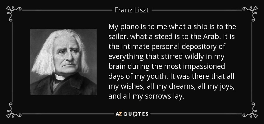 TOP 25 QUOTES BY FRANZ LISZT