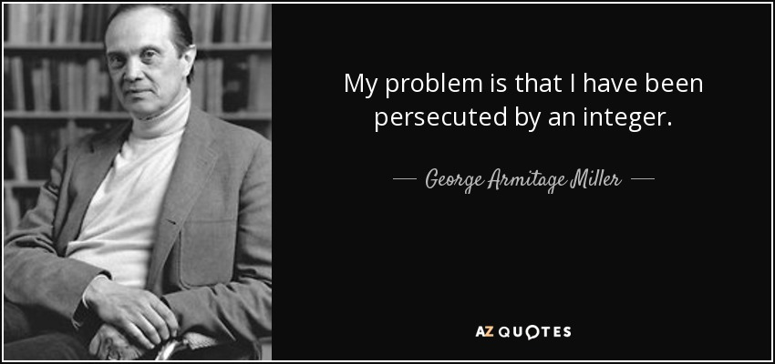 George Armitage My problem is that I have been