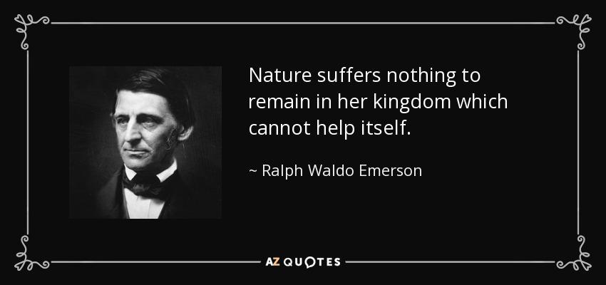 Ralph waldo emerson emerson essays