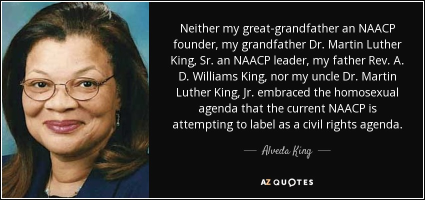 Alveda King Quote Neither My Great Grandfather An Naacp Founder My