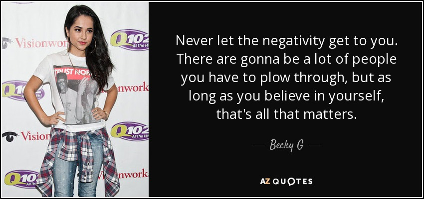 TOP 9 QUOTES BY BECKY G