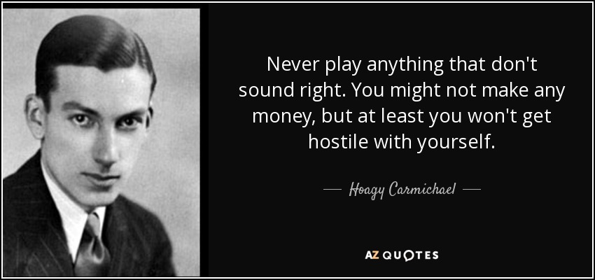 hoagy carmichael stardust sheet music