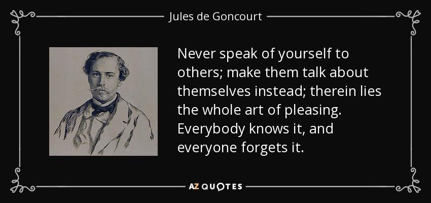 Make them talk