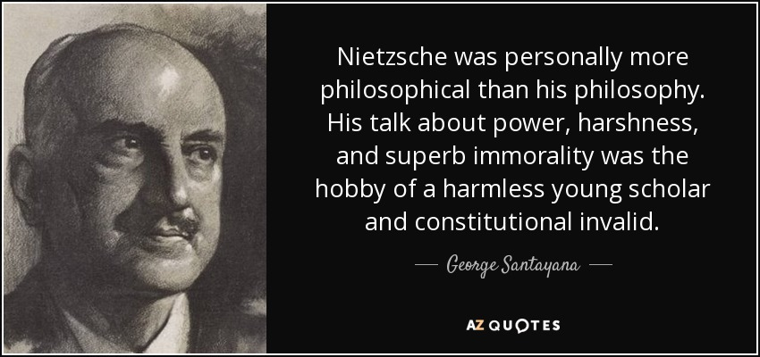 thoughts on nietzsche and his philosophy The goal of this post is to put onto 'paper' some thoughts regarding nietzsche's rendering of tragedy in the birth of tragedy and the way in which tragedy functions in plato's the republic.