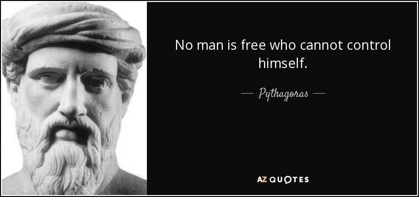 man is free
