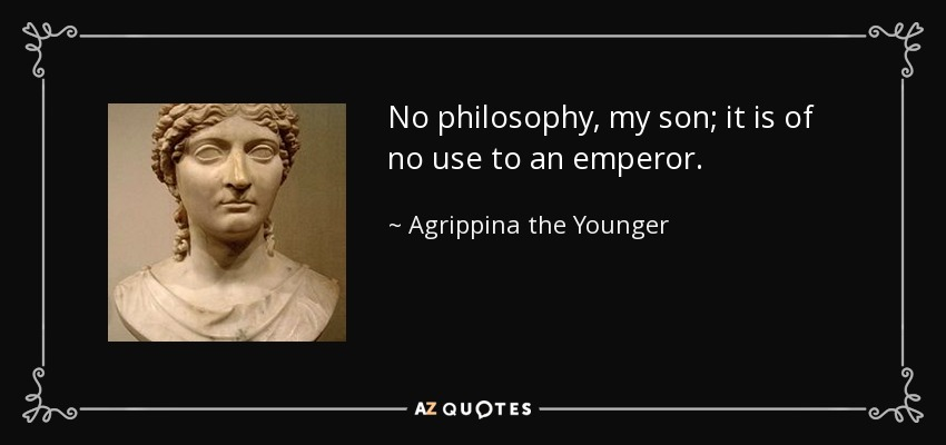 basis of agrippina s power and influence
