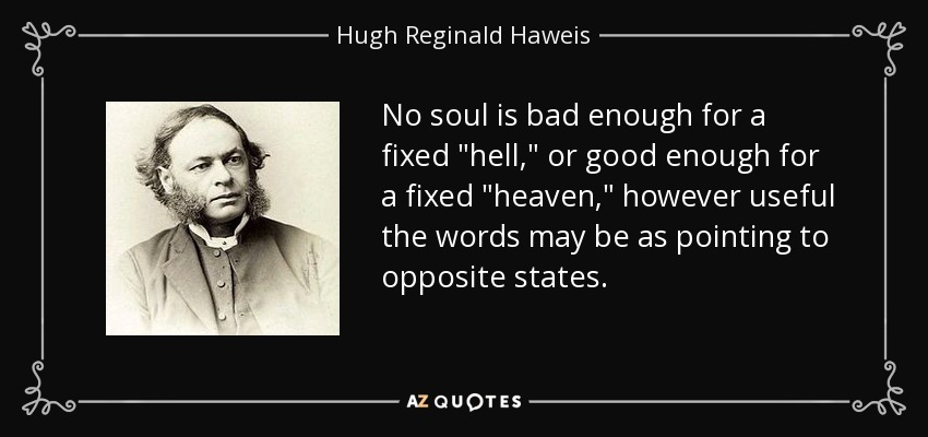 No soul is bad enough for a fixed