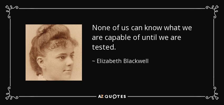 Elizabeth Garrett Anderson Quotes: TOP 23 QUOTES BY ELIZABETH BLACKWELL