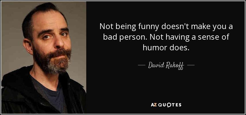 humorist david