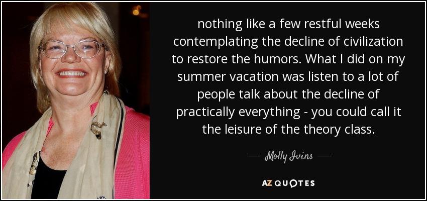 molly ivins humor essay