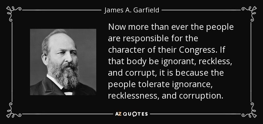 Top 25 Quotes By James A Garfield Of 120 A Z Quotes