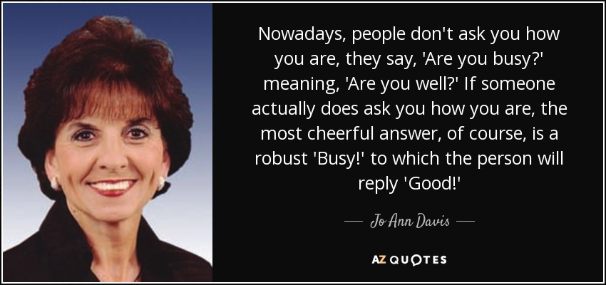 TOP 8 QUOTES BY JO ANN DAVIS