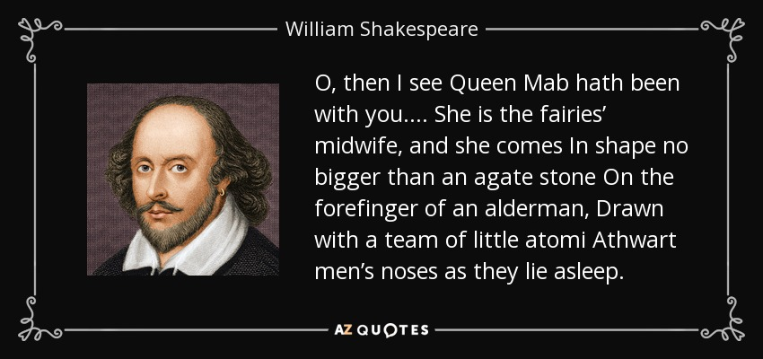 queen mab shakespeare