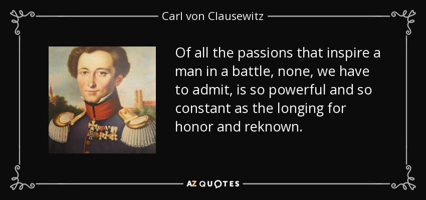 strategies influence and effects of war which was theorized by sun tzu and carl von clausewitz