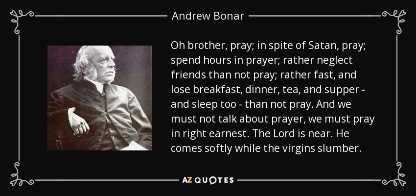 QUOTES BY ANDREW BONAR