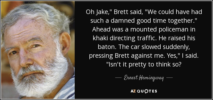Oh Jake,
