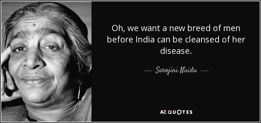 The india we want
