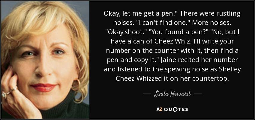 Okay, let me get a pen.