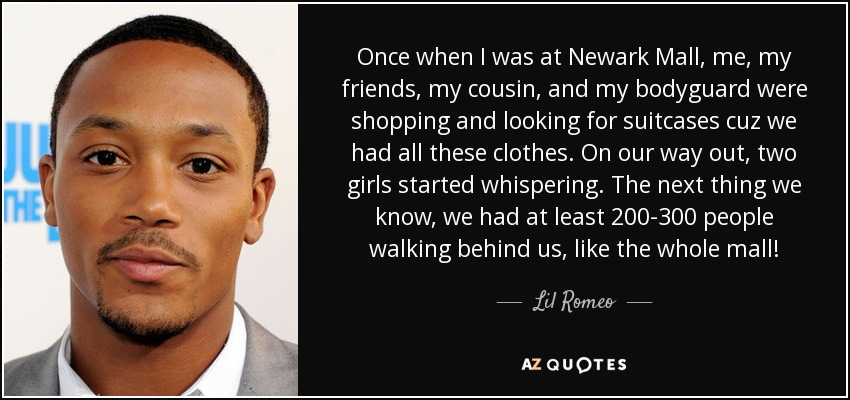 Top 8 Quotes By Lil Romeo A Z Quotes