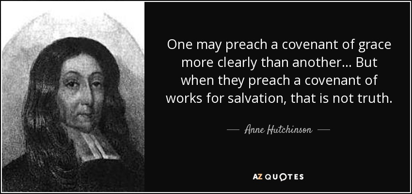 TOP 17 QUOTES BY ANNE HUTCHINSON | A-Z Quotes