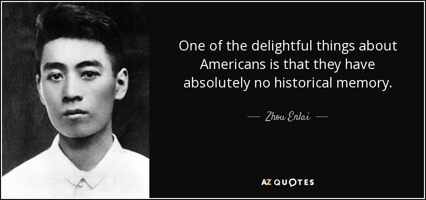 TOP 6 QUOTES BY ZHOU ENLAI | A-Z Quotes