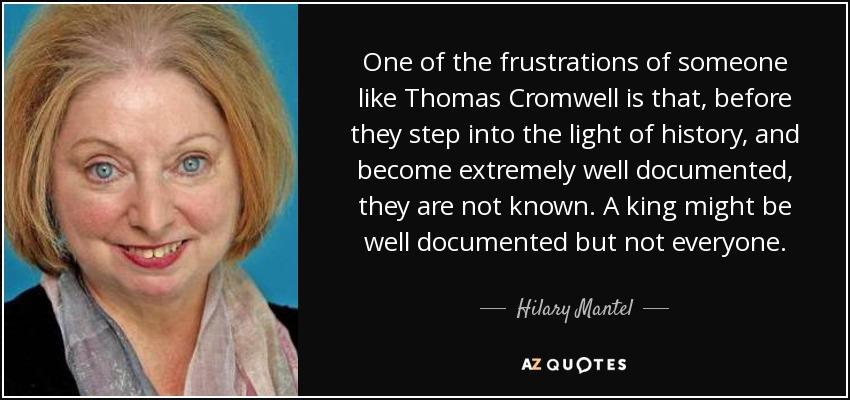 Hilary mantel cromwell