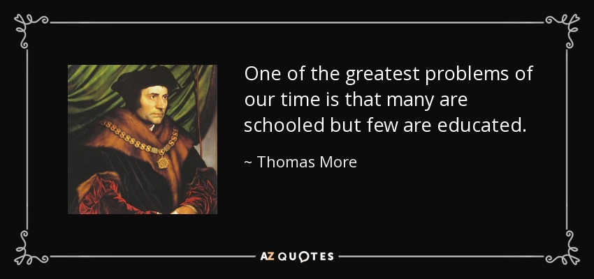 TOP 25 QUOTES BY THOMAS MORE (of 93) | A Z Quotes