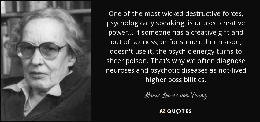 TOP 25 QUOTES BY MARIE-LOUISE VON FRANZ | A-Z Quotes
