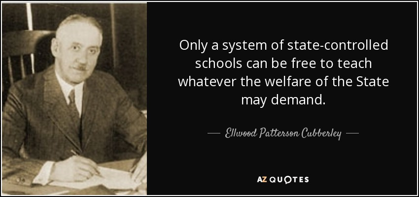 David Starr Jordan Quote: QUOTES BY ELLWOOD PATTERSON CUBBERLEY