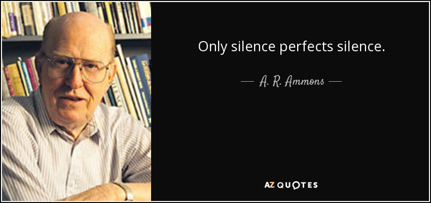 A R Ammons loss by a r ammons