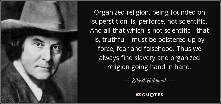 Is organised religion a force of good?