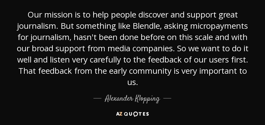 Quotes By Alexander Klopping A Z Quotes